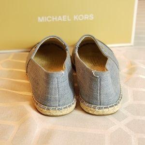 Michael Kors Shoes - NEW Michael Kors washed denim espadrilles